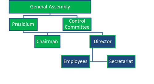 Organisational structure of EPMA