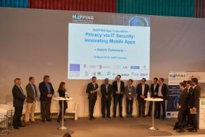 MAPPING App Award ceremony at CeBIT 2016